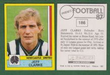 Newcastle United Jeff Clarke 186